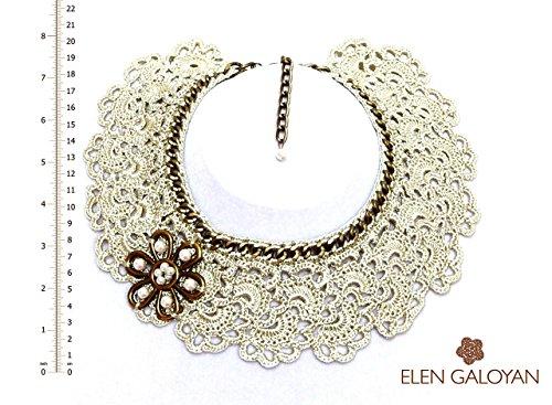Delightful Brooch (Elen Galoyan Handmade Necklace