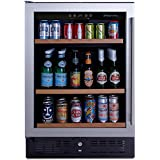 NFINITY PRO S Beverage Center Stainless Steel Door Left, Holds 178 Cans