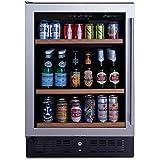 N'FINITY PRO S Beverage Center Left Hinge - Stainless Steel Door