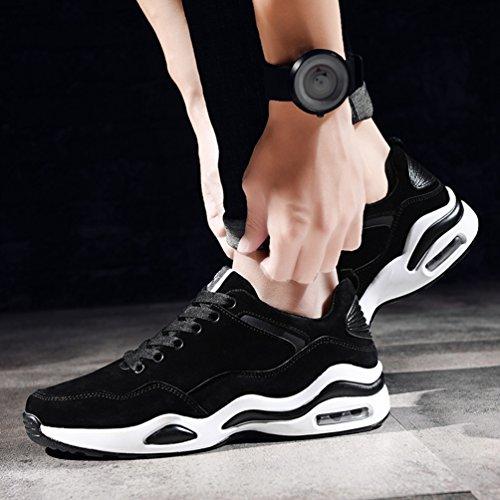 Marche Pied Casuel Coussin Noir Sport Jogging avec 39 Chaussure Chaussure Antichoc 44 Voyage de de Sneaker D'air Course Running Homme wqgR0Ax
