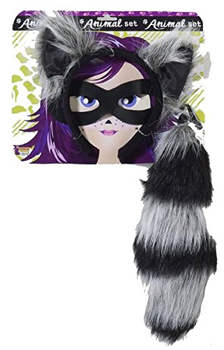 Raccoon Ears And Tail Set]()