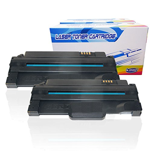 e Toner Cartridges Replacement for Dell 1133 1135n 1130 1130n High Yield 330-9523 2.5K (Black, 2-Pack) ()