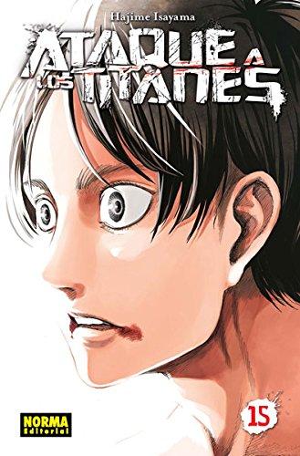 Descargar Libro Ataque A Los Titanes 15 Hajime Isayama