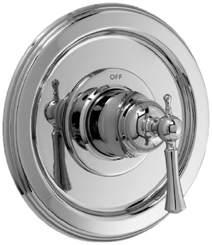 Jado Pressure Balance Valve (Jado 842536.150 Hatteras Pressure Balance Shower Valve Trim Kit with Lever Handle, Platinum Nickel)
