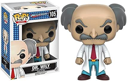 Wily-Megaman Funko Pop Vinyl Dr