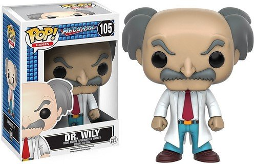 Funko POP Games: Mega Man - Dr. Wily
