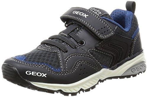 Geox J Bernie C, Zapatillas para Niños Azul (Navyc4002)