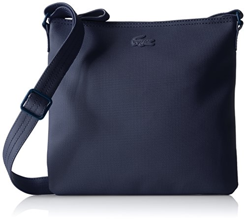 Lacoste Women's Classic Flat Crossover Bag - 035 Black Ir...