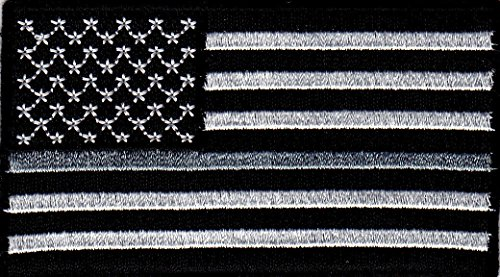 american-flag-black-white-w-silver-line-iron-on-embroidered-patch-corrections