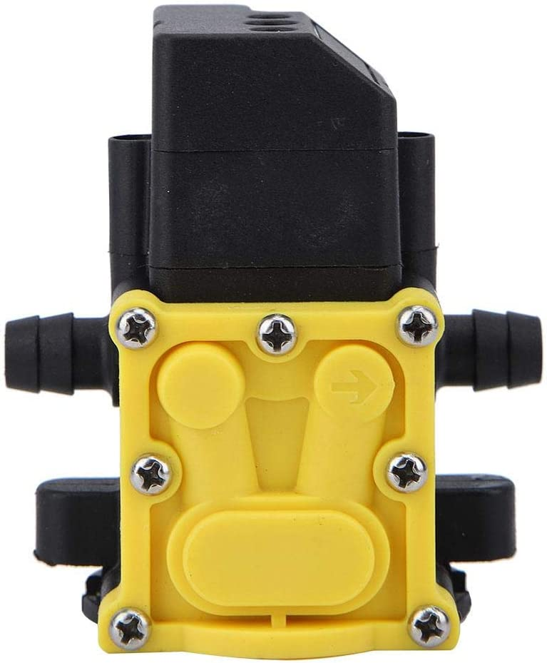 idalinya Submersible Pump Water Sprayer Garden Self-Priming Pump Accessories Electric Sprayer Water Pump Diaphragm Pressure Pump 12v