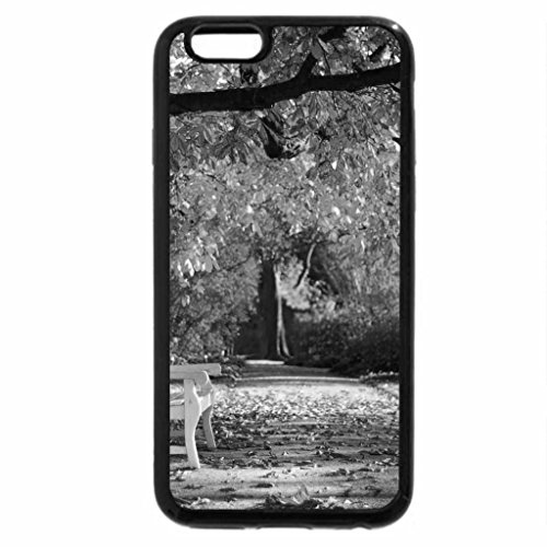 iPhone 6S Plus Case, iPhone 6 Plus Case (Black & White) - Beautiful autumn