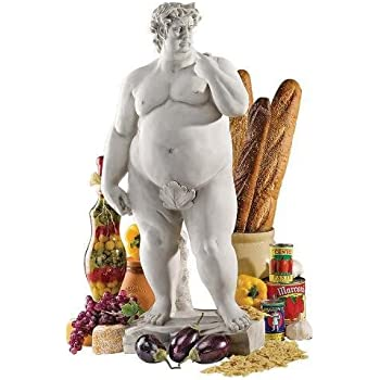 Amazon.com : Design Toscano Super-sized David Garden Sculpture ...