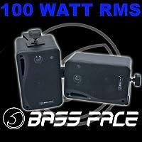 Par de Altavoces Impermeables Bass Face SPLBOX.1Negras 100W