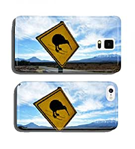 Beware of Kiwi Road Sign cell phone cover case Samsung S5