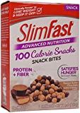 Slim Fast Advanced Nutrition 100 Calorie Snack Bites, Peanut Butter Chocolate, 0.81 oz Bag (Pack of 5)