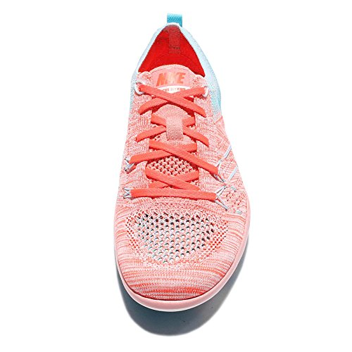 Womens Running Focus Melon Blue Tr 844817 Bright Shoes 801 Sneakers Trainers Polarised Free Flyknit Nike d1RxXwd