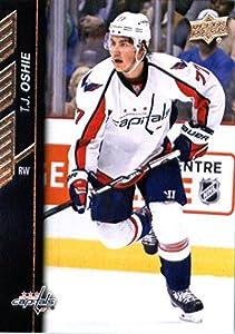 2015-16 Upper Deck Series 2 #439 T.J. Oshie Washington Capitals Hockey Card