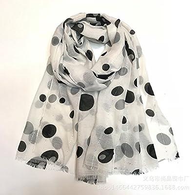 Écharpe de timbres _ dot dot foulard couleur doit être