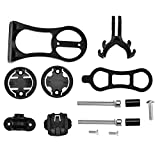 T-best Bike Computer Bracket,Multi-functional Cycling Bike Computer Mount Extension Bracket for GARMIN CATEYE Bryton(Black)