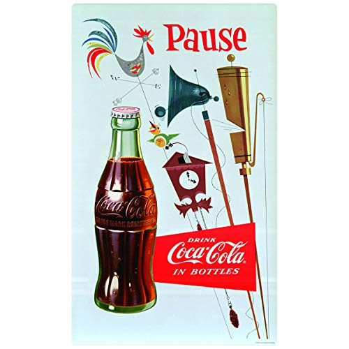 Retro Planet Coca-Cola Pause Country Weathervane Wall Decal 15 x 24 Vintage Style ()