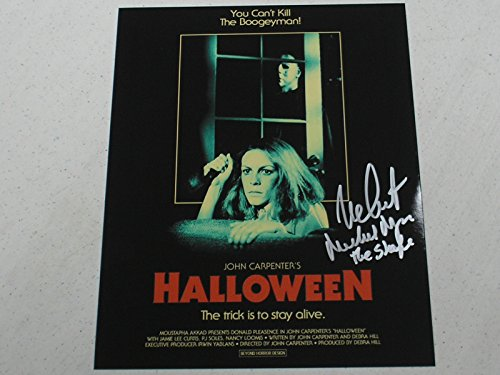 Nick Castle Signed Michael Myers 8x10 Photo Halloween The Shape -