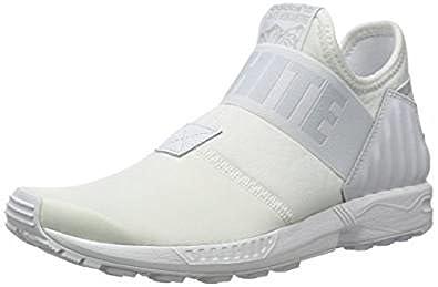 adidas Originals White Mountaineering ZX Flux Plus All White weiss Gr. 40
