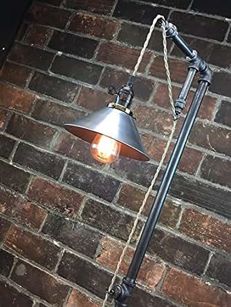 Industrial Style Floor Lamp Pendant Edison Bulb Metal