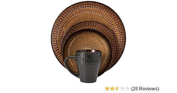 Amazon.com | Pfaltzgraff Everyday Cambria 16-Piece Dinnerware Set ...