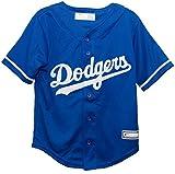 OuterStuff Los Angeles Dodgers Alternate Blue Cool Base Infant,Toddler, and Preschool Jersey