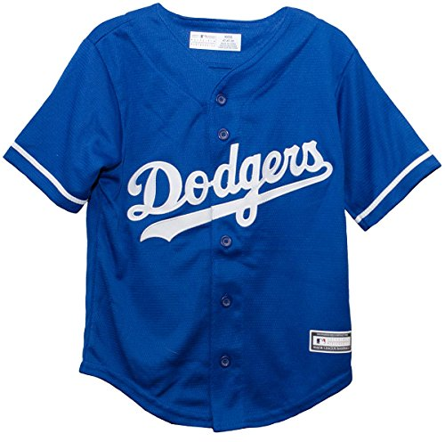 Outerstuff Los Angeles Dodgers Alternate Blue Cool Base Infant,Toddler, and Preschool Jersey