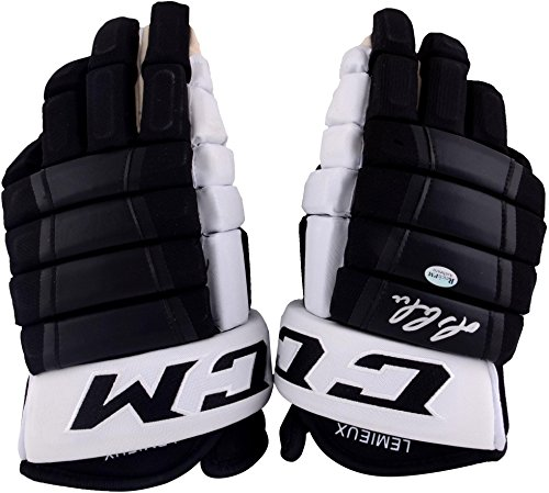Mario Lemieux Pittsburgh Penguins Autographed CCM Game Model Glove - Steiner Sports - Fanatics Authentic Certified