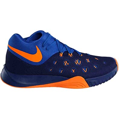 d3391cfec333 Nike Zoom Hyperquickness 2015 Men Basketball Sneakers New Insignia Blue  Bright Citrus  Buy Online at Low Prices in India - Amazon.in