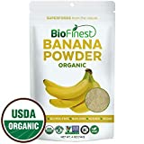 Biofinest Banana Powder – 100% Pure Antioxidants Superfood – USDA Certified Organic Kosher Vegan Raw Non-GMO- Boost Digestion Weight Loss – Fresh Fruit for Smoothie Beverage (4 oz Resealable Bag) Review