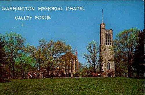 (Washington Memorial Chapel Valley Forge Valley Forge Park, Pennsylvania Original Vintage Postcard)