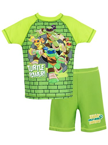 Teenage Mutant Ninja Turtles Boys' Ninja Turtles Two Piece Swim Set 3T