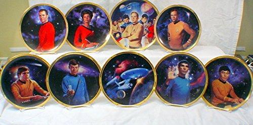 Star Trek 25TH Anniversary Commemorative Hamilton Collection Plates x 9 Amazon.co.uk Kitchen \u0026 Home  sc 1 st  Amazon UK & Star Trek 25TH Anniversary Commemorative Hamilton Collection Plates ...