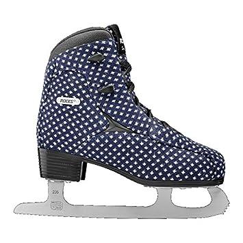 Roces Women s Wooly Fleur De Lis Ice Skate Superior Italian Navy 450694 00002