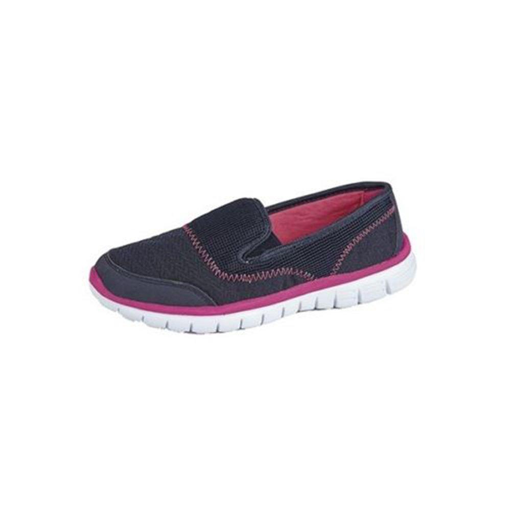 1ae312efb519b Dek Womens Lightweight Slip On Trainers Pumps - Ladies Casual Go Walking  Summer Shoes