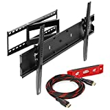 Mount Factory Articulating Tilting Full Motion TV Wall Mount for 40 / 65- Inch TV - Best Reviews Guide