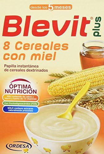 Blevit Plus 8 Cereales con Miel - 300 gr: Amazon.es: Alimentación y bebidas