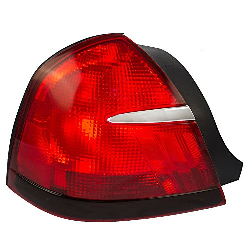 Drivers Taillight Tail Lamp Replacement for Mercury (Mercury Grand Marquis Tail Lamp)