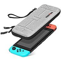 Estuche para Nintendo Switch – innoAura Funda Rígida de Viaje Ultra-Ligera con Capacidad para Guardar 8 Juegos