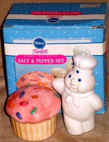 (Pillsbury Doughboy Funfetti Salt an Pepper Shaker)