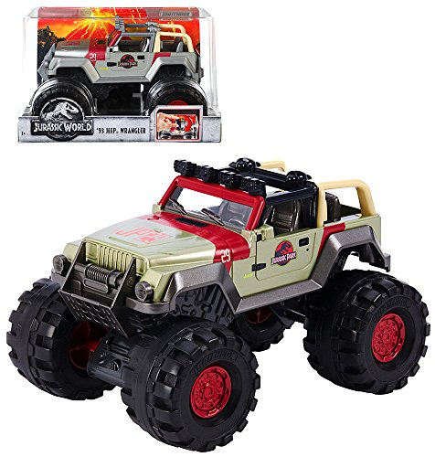 (Jurassic World 1993 Diecast Jeep Wrangler 1:24 Scale)