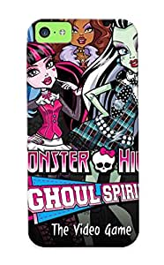 Fashion Tpu Case For Iphone 5c- Monster High Defender Case Cover For Lovers