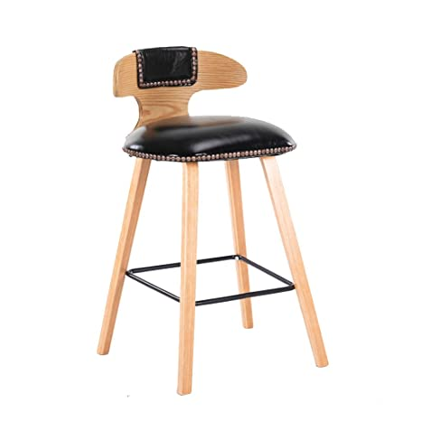 Pleasant Amazon Com He Yan Long Home Bar Stools Northern Europe Machost Co Dining Chair Design Ideas Machostcouk
