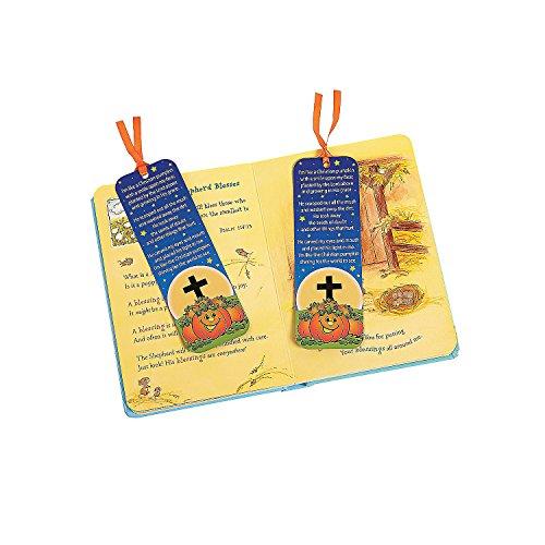Halloween Pumpkin Prayer (Fun Express Pumpkin Prayer Bookmarks (Bulk Set of 48) Christian Halloween)