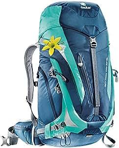 Deuter ACT Trail Pro 32 SL - Ultralight 32-Liter Hiking Backpack, Midnight/Mint