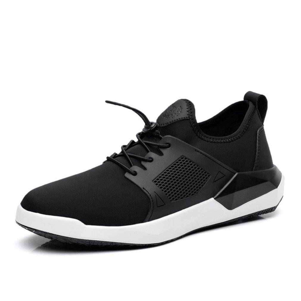 Herren Turnschuhe Modische Laufschuhe Schnürsenkel Elastische Bequeme Atmungsaktiv Anti-Rutsche Tragen Trainers Schuhe