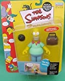 The Simpsons Wave 2 Action Figure Pin Pal Homer by Playmates